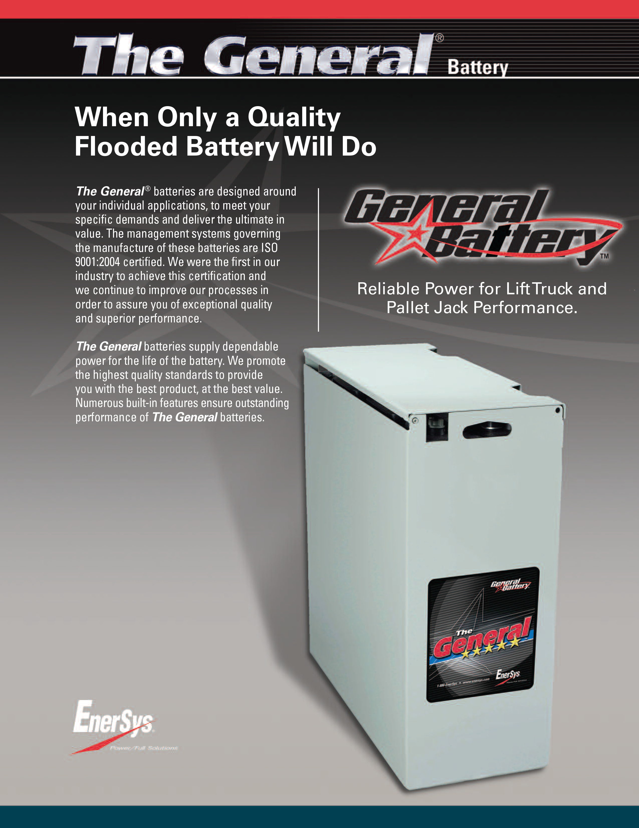 Forklift And Equipment Batteries General Brochure 1 Hh Wholesale